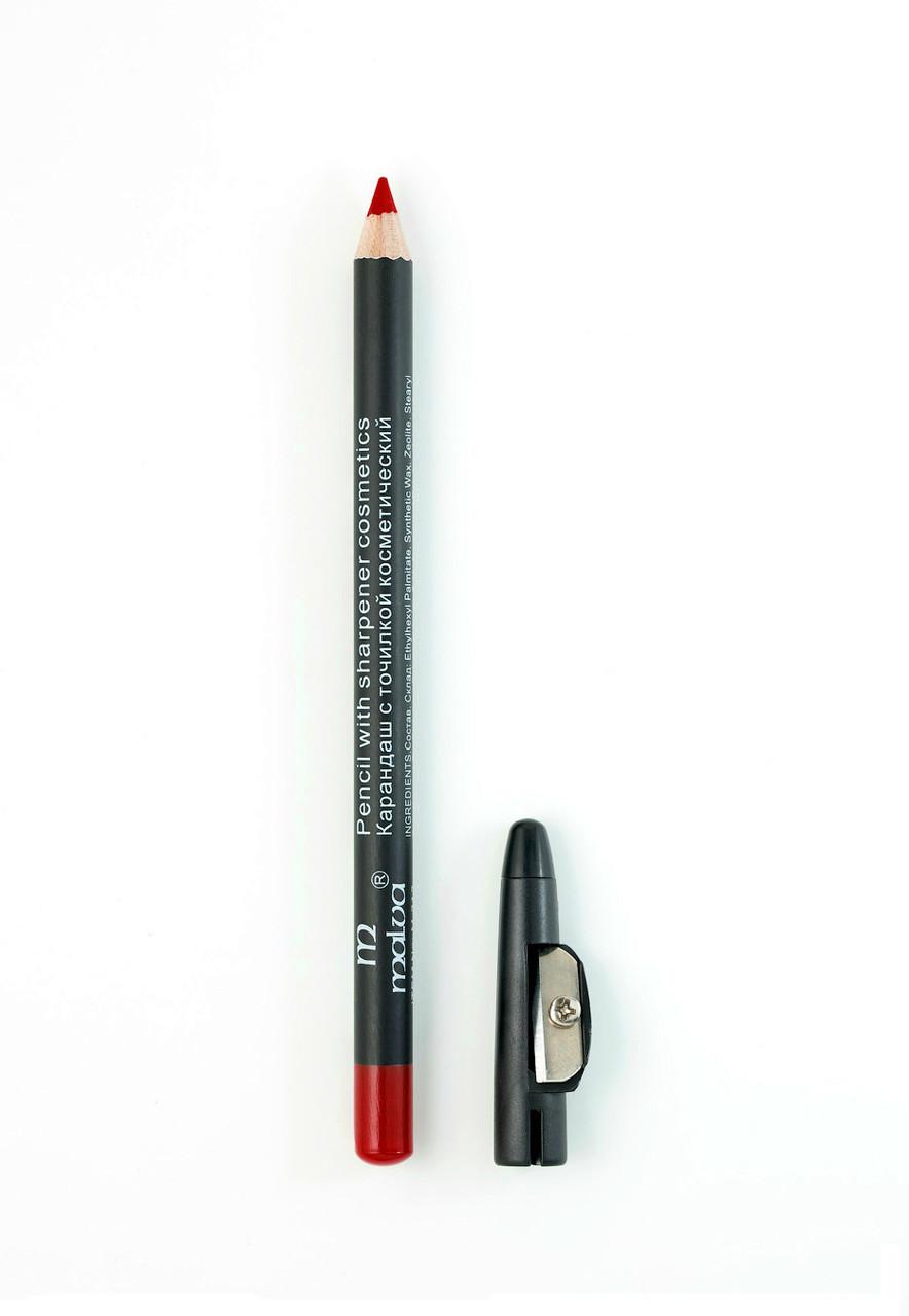 Олівець з точилкою Malva М-313 № 6