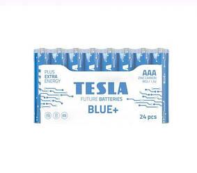 """Батарейки """"TESLA ААА: BLUE+"""", 24 шт AAA BLUE+ 24M"""