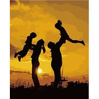 """Картина по номерам """"Счастливая семья"""" VA-2653"""
