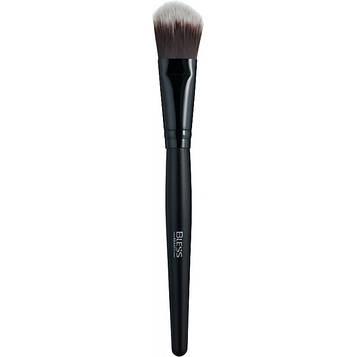 Кисть для макияжа Bless №16 - плоская для нанесения масок и тонального крема