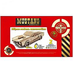 "Дерев'яний конструктор ""Автомобіль Mustang"" BB2musta"