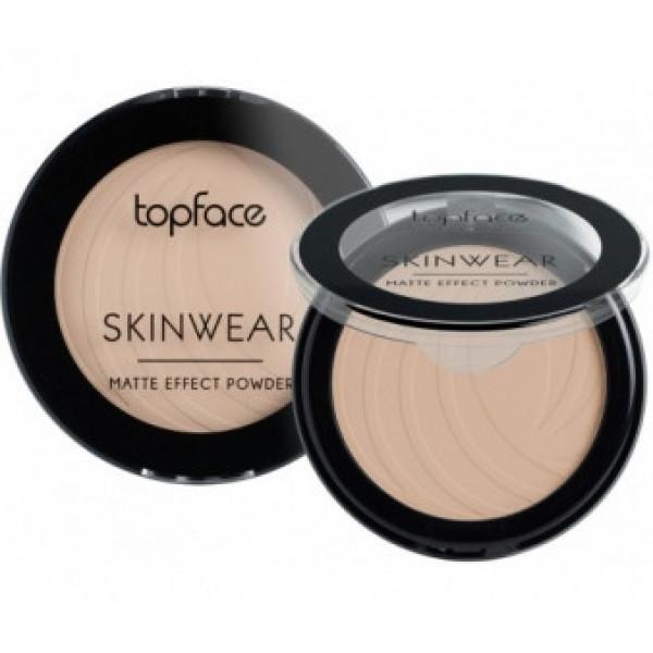 Пудра компактна Topface Skin Wear Matte Effect PT265 №1