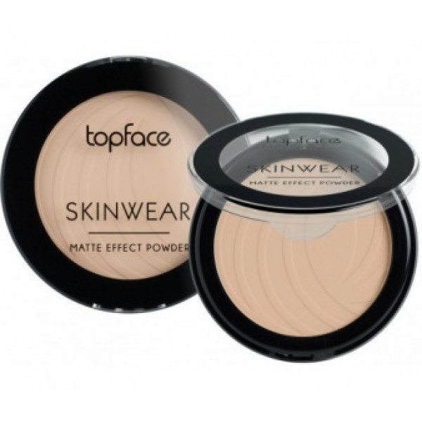 Пудра компактна Topface Skin Wear Matte Effect PT265 №2