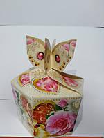 Бонбоньєрки кольорові коробочки