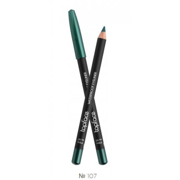 Карандаш для глаз Topface Waterproof Eyeliner PT614 - №107