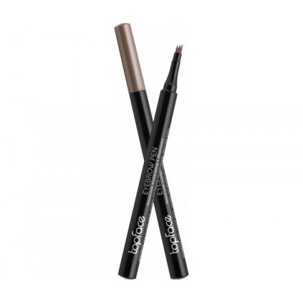 Маркер для бровей Eyebrow Styler Pen Topface PT616 №3