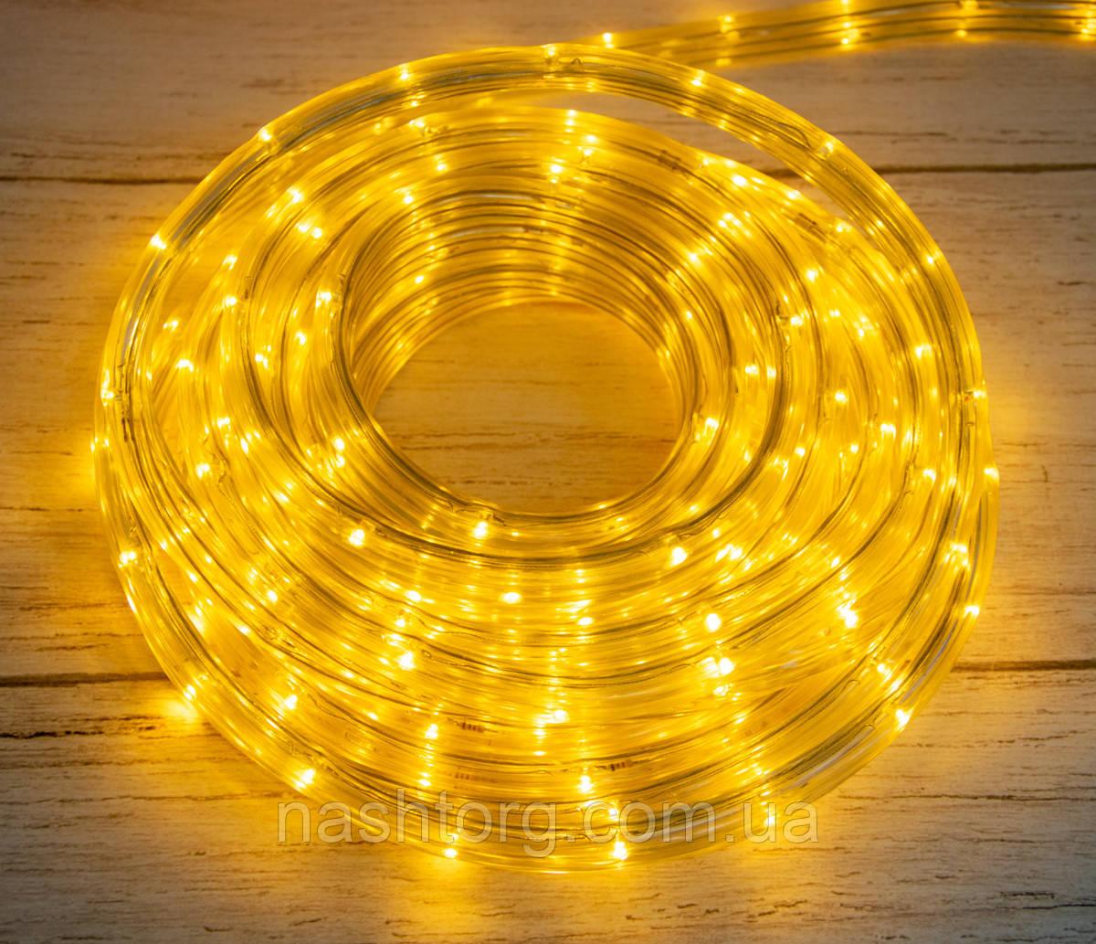 Новорічна світлодіодна гірлянда на 8 метрів Xmas Rope Light WW Теплий білий, новорічна гірлянда на ялинку