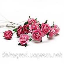 Букет троянд Open Ros, 12 шт Rose Pink