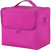 Чемодан кейс для косметики MP-0385 розовый