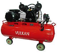 Компрессор воздушный Vulkan IBL 2070E-220-100 ременной 2.2 кВт
