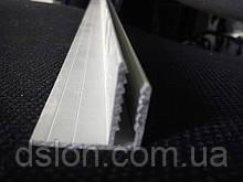 F-образный анодированый профиль 4 мм.