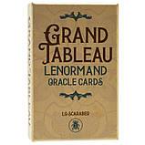 Карты Lenormand Grand Tableau (Оракул Гранд Табло Ленорман), фото 2