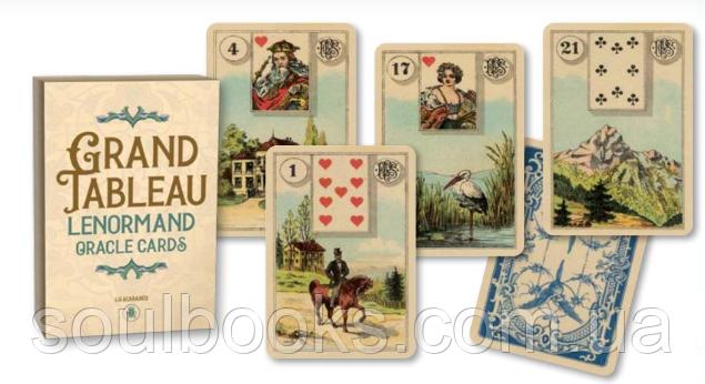 Карты Lenormand Grand Tableau (Оракул Гранд Табло Ленорман)