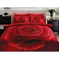 Тас постельное бельё полуторное Love Dream red