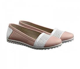 Кеди без шнурків жіночі рожевого кольору