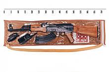 """Іграшковий автомат АК-47"""" з пістонами та аксесуарами Golden Gun 251"""