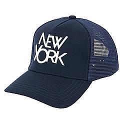 Бейсболка SR22 NEW YORK метал сетка темн.синий