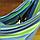 Тканевый уличный гамак, подвесной гавайский гамак для дачи и дома Синий, фото 7