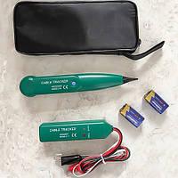 Детектор скрытой проводки Cable Tracker MS6812 трассоискатель (с батарейками и чехлом)