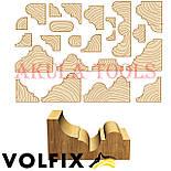 Мульти профильная фреза (кромочная фигурная) по дереву VOLFIX, фото 5