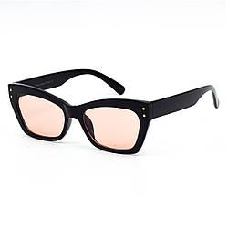 Солнцезащитные очки SumWin 92135 C2 черный с розовой линзой