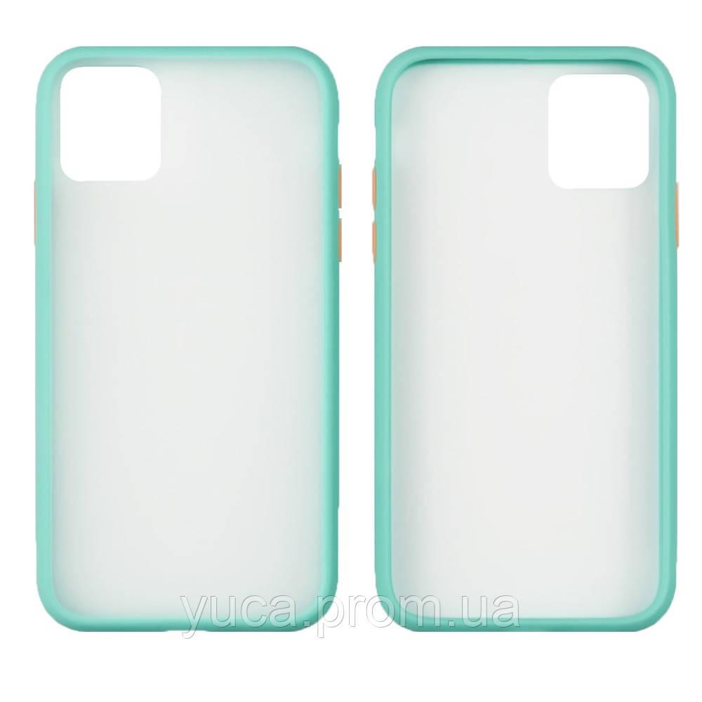 Чехол Totu Gingle series для Apple iPhone 11 бирюзовый