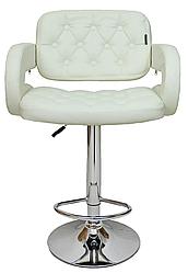 Барный стул со спинкой Bonro B-823A коричневый