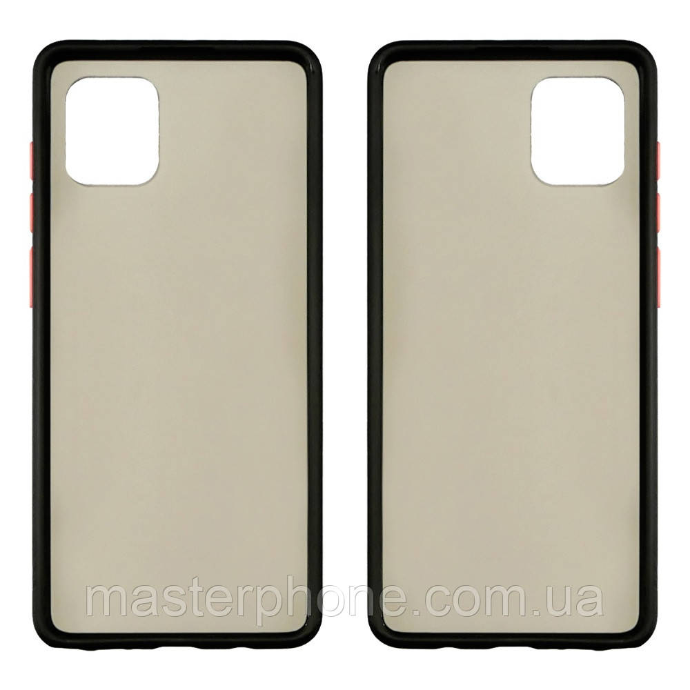 Чохол Totu Gingle series для Samsung SM-N770 Note 10 Lite чорний