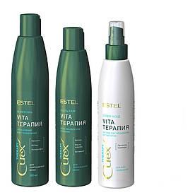 Набор для сухих, ослабленных и поврежденных волос Curex Therapy Estel 300/250/200 мл.