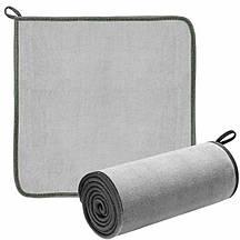 Полотенце для мойки авто BASEUS Easy Life Car Washing Towel Two Pack Gray 40х40 см автополотенце из микрофибры