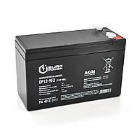 Аккумуляторная батарея EUROPOWER AGM EP12-9F2 12 V 9Ah ( 150 x 65 x  95 (100) )  Black Q10