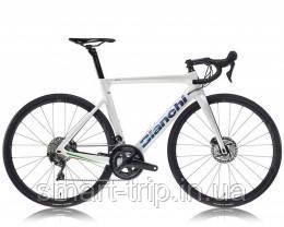 Велосипед BIANCHI Aria Aero Ultegra 11s Disc 52/36 Road Limited Edition Розмір рами 57