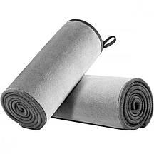 Полотенце для мойки авто BASEUS Easy Life Car Washing Towel Two Pack Gray 40х80 см автополотенце из микрофибры