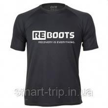 Футболка Reboots Recovery is Everything RM-0006 черный лето Размер одежды L