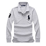 В стиле Ральф поло мужская рубашка реглан ралф купить в Украине., фото 2