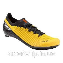 Велотуфли DMT KR TDF Road Yellow Размер обуви 40,5