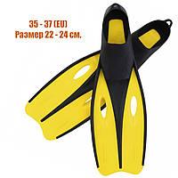 Ласты для плавания 35-37 размер Bestway 27025 Спортивные ласты для дайвинга