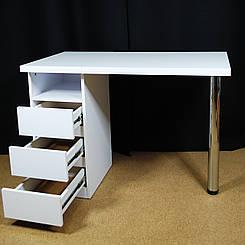Стіл манікюрний. Стіл для майстра манікюру. Стіл для нарощування нігтів. Манікюрний стіл складаний