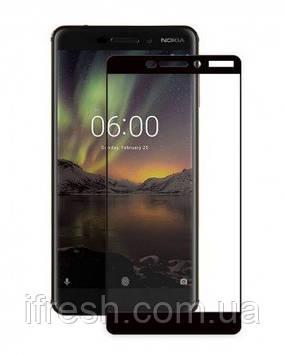 Защитное стекло 3D Perfect Protection Full Glue Lion для Nokia 6.1, Black