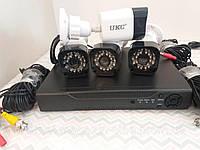 Комплект видеонаблюдения Регистратор + 4 Камеры DVR KIT CAD D001 2mp\4ch