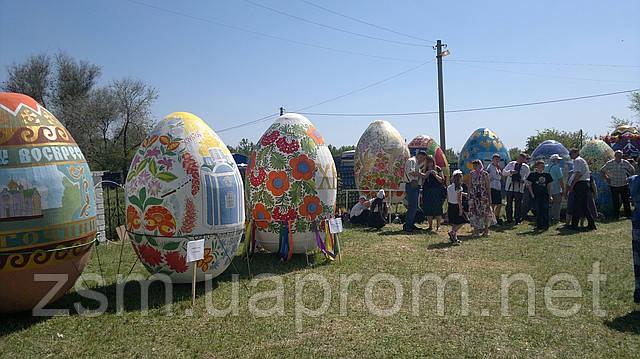 Завод сельхозмашин выступил спонсором проведения фестиваля расписных яиц – пысанок