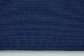 Мягкая Вафелька темно-синяя 160 см