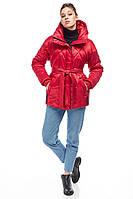 Демисезонная женская куртка ORIGA Аманда 42 Красный 02MNDD-красный42, КОД: 2364818