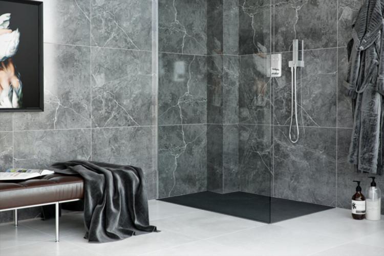 Душевой поддон Excellent Lavano композитный черный 1200x900