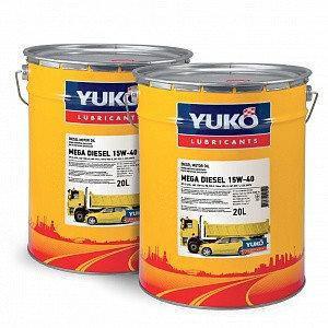 Моторное масло YUKO MEGA DIESEL 15w40 (CI-4/SL) 20л.
