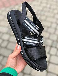 Босоніжки жіночі шкіряні на повну ногу великого розміру 36-45, жіноче взуття великих розмірів