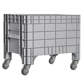 Контейнер Kayalarplastik K 7000 270 л с колесами серый