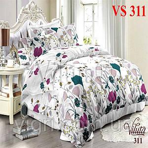 Постельное белье полуторка, сатин, Вилюта «Viluta» VS 311