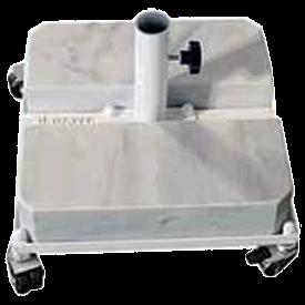 База для зонта The Umbrella House с 2 мраморными плитами до 3м Ø 50 мм с колесами