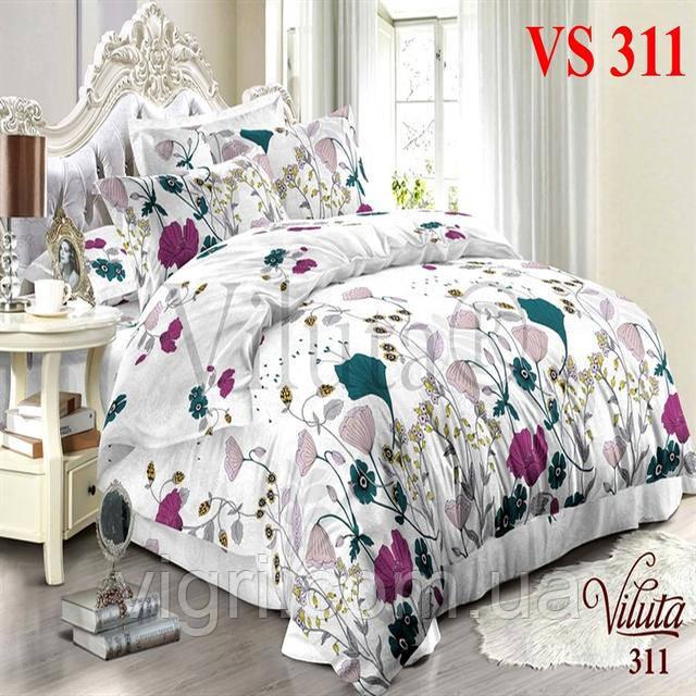 Постільна білизна полуторна, сатин, Вилюта «Viluta» VS 311